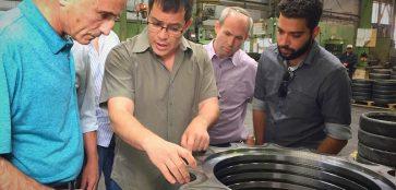 Knesset Member, Ofer Shelah visit