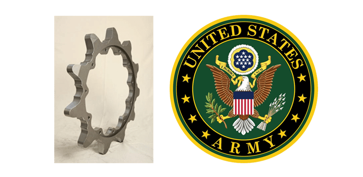 TGL SP Industries to supply M1 Sprockets to the U.S Army