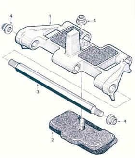 M107 Track Shoe Assy