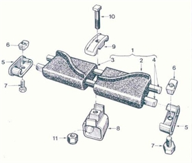 M4/ M51/M75 Track Shoe Assy