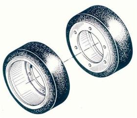 M2/M3/M16/M21 Road Wheel