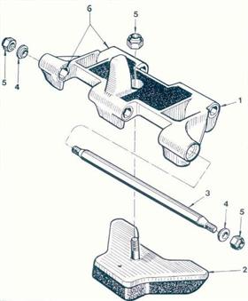 M41/M42/M44/M75/M79 Rubber Pad Assy