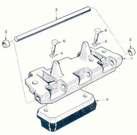AMX-13 Track Shoe Assy