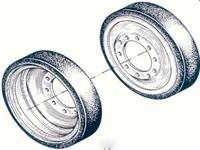 M47/M48/M60/M88 Road Wheel - m-60 wheel
